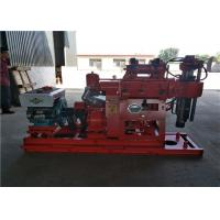 China Water Well Hydraulic Portable Core Drilling Machine 200m Depth With Long Life on sale