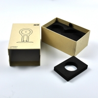 China 1200gsm Kraft Paper Gift Box With Foam Insert on sale