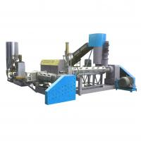 Best Speed Control Waste Plastic Recycling Pelletizing Machine Water Ring Cutting wholesale