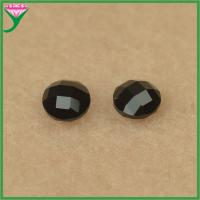 Best Wholesale price round shape double turtles natural black spinel price wholesale