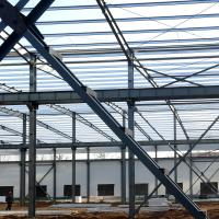 Best Fabricated Light Type Q235 Q345 Pre Built Metal Buildings Prefabricated Steel Structure wholesale