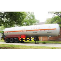 China Large Load Transport Semi Trailer For Liquefied Gas Propylene on sale