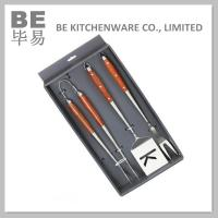 Best Smart BBQ Set with Rosewood Handle (BE-20042) wholesale