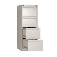 China Home Library Key Lock Electrostatic 0.6mm Steel Filing Cabinet on sale