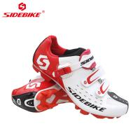 China Breathable Mens White Cycling Shoes Geometry Design Body High Pressure Resistance on sale