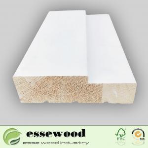Best Wholesale Custom Wood Door F/J Primed Wood Door Jamb Frame Moulding wholesale