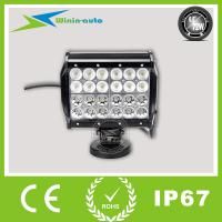"China 6.5"" 72W high intensity LED light bar for ship industry 6000 Lumen WI9041-72 on sale"