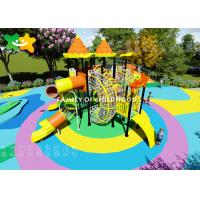 China Kindergarten Plastic Kids Outdoor Playground Equipment Eco Friendly Non Toxic Material on sale
