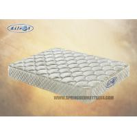 Best Compressed Bonnell Coil / Tricot Fabric Tight Top Mattress Topper 9 Inch wholesale