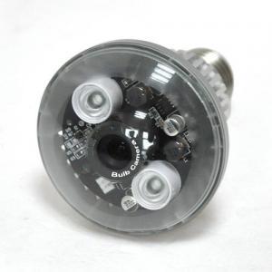 Best IR HD 720P Home Surveillance IP Camera , Iphone / Ipad / PC Viewing Bulb Spy Camera wholesale