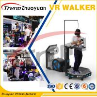 Buy cheap Shopping Mall Virtual Treadmill Running , Omnidirectional Virtual Reality Running Machine product