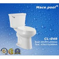 Best Bathroom Sanitary Wares Water Closet Two-Piece Toilets (CL-049) wholesale