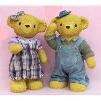 Best Promotional unopenable  toy teddy bear  Ceramic Money Box presents for wedding wholesale