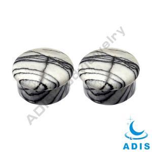 Best OEM & ODM Cool Stone Ear Plugs Stretchers Organic Body Jewelry wholesale