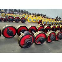 China Custom Size Crane Rail Wheels , Crane Trolley Wheels with Life Time Quality Warranty on sale