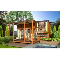 Best Beautiful Design Prefab Loft Homes For Hotel Real Estate Wood Appearance wholesale