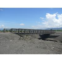 China Permanent Bailey Bridge / Steel Frame Bridge With Simple structure on sale