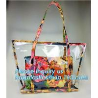 Best Recycle Shopping Bags Leather Felt Pu Glitter Clear Pvc Canvas Travel Makeup Toiletry wholesale