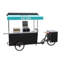 China Environment Friendly Burger Food Cart Convenient Catering And Retailing on sale