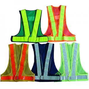 China Durable Reflective Safety Coat / Sanitation Traffic Safety Warning Clothing Vest on sale