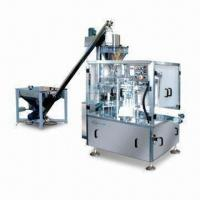 Best Standup Pouch Filling/Sealing Machine with Stable Bag-nipping Structure and 2.0kW Power Consumption wholesale