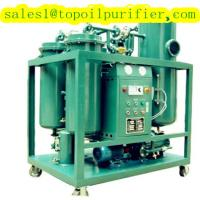 China Turbine used oil recycling system remove the water, gas and impurities from steam and gas turbine oil on sale