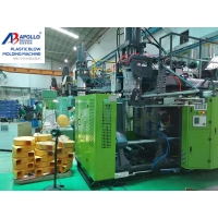 China 100L Drum 22KW HDPE Extrusion Blow Molding Machine on sale