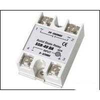 Best Fotek Type Electrical Relay / Solid State Variable Relay With LED Indication SSR-40DA wholesale