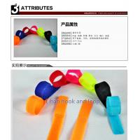 China useul releasable cable tie Colorful velcro cable tie/velcro tie/printed velcro cable ties on sale