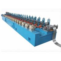 China 10-15m / Min Octagon Pipe Roll Forming Machine For Rolling Shutter Axes on sale