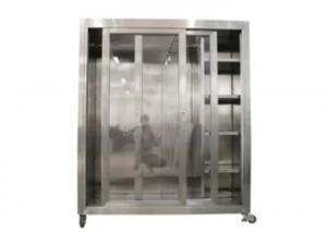 Best Static 1500*750*1800mm Garment Cubicle Assembly / Clean Room Dress Cabinet wholesale