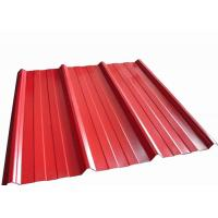 Best Colour Coated Corrugated Roofing Sheets / Pre - Painted Galvanized Steel Sheet wholesale