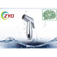 China Round Bathroom Toilet Hand Spray , Stainless Steel Hose Toilet Hand Shower on sale