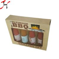 Best Customized Size Paper Board Box Classic Style For Sauce Bottles wholesale