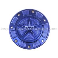 Buy cheap Universal Aluminum CNC Blliet Motorcycle Gas Cap / Fuel Cap For Sale from wholesalers
