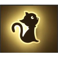 Best CAT Acrylic LED indoor wall lighting /Interior led wall lamp for kids room wholesale