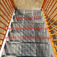 Best aluminum metal outside exterior stair steps for safety wholesale