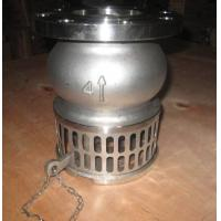 China Hand Lever Operator SS Stainless Steel Foot Valve For Oil , Liquid / Suction Foot Valve on sale