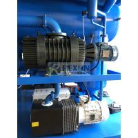China High Vacuum Dehydration Transformer Oil Filter Machine With 3000L / H Capacity on sale