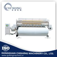 China Computerized Shuttle Multi Needle Quilting Machine 128 Inches With 300 Quilting Patterns on sale