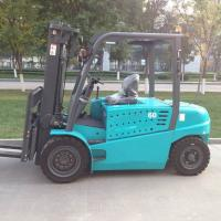 Best 6 Ton AC Electric Forklift Truck Battery Power Type With Lifting Height 6000mm wholesale
