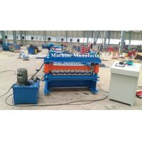 Best Zinc / Aluminum Forming Machine 15 m / min Speed Roof Sheet Bending Machine wholesale