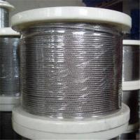 Best Stainless Steel Wire Rope with 1 x 7, 1 to 3mm Control Cable, Available in in Grade AISI304 wholesale