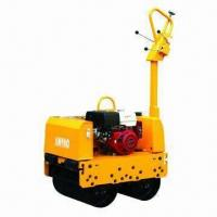 Best Hydraulic Vibrating Roller with Double Drums, Kubota Engine and 12.5kN Centrifugal Force wholesale