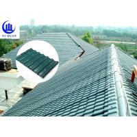 Best Corrosive Resistance ASA Synthetic Resin Roof Tile Waterproof Plastics Traditional Chinese Sheet wholesale