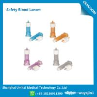 Best Pressure Activated Disposable Blood Lancets For Diabetes OEM / ODM Available wholesale