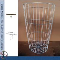 China Metal H30 Round Wire Bin For Convenience Store on sale