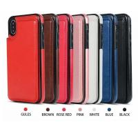 Best Lightweight Cell Phone Protective Covers Fashion Leather Phone Case With Card Slot wholesale