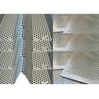 Best Solid Perforated Anodized Aluminum Sheet 2200 mm Max Length For Decoration wholesale