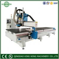 China KC2060D linear ATC CNC Router Cutting Machine for Cabinet and Aluminum soft metal on sale